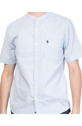 DUSTY BLUE GUARDIAN ALAN OXFORD SHIRT