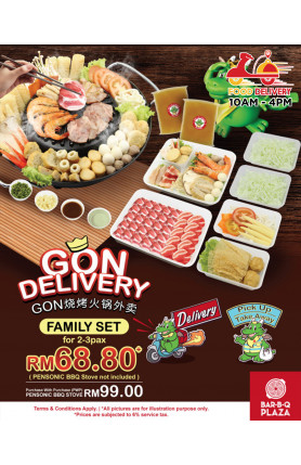 [FOOD DELIVERY] FAMILY SET PROMOTION