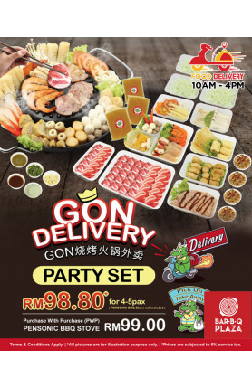 [FOOD DELIVERY] PARTY SET PROMOTION