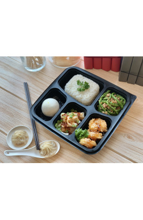 [FOOD DELIVERY] Deluxe Prawn Bento/泰式虾便当