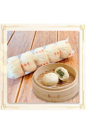 [FOOD DELIVERY] FROZEN VEGE PORK BUN 5PCS/冷冻菜肉包 5PCS..