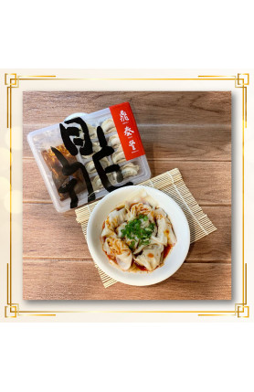 [FOOD DELIVERY] FROZEN SPICY VEGE & PORK WONTON 8PCS/冷冻..