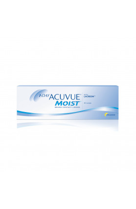 1DAY ACUVUE MOIST 30 PCS