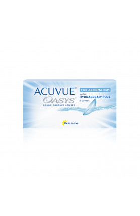 ACUVUE OASYS FOR ASTIGMATISM 6PCS
