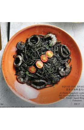 [FOOD DELIVERY] SQUID INK SPAGHETTI