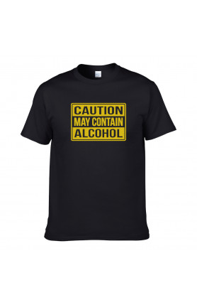 CAUTION ALCOHOL