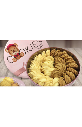 [FOOD DELIVERY] 2 MIX BUTTER & COFFEE COOKIES 280GM