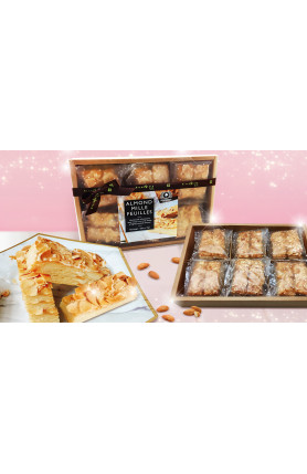 [FOOD DELIVERY] ALMOND MILLE FEUILLES 216GM