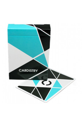 CARDISTRY TURQUOISE BLUE EDITION PLAYING CARDS
