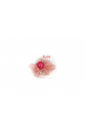 STRAWBERRY PINK HAIR CLIP