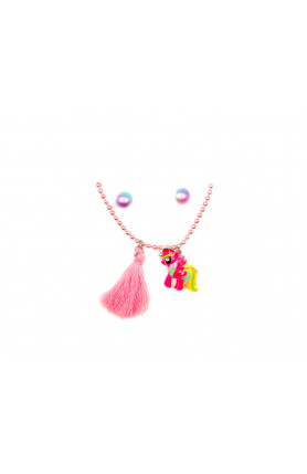 LITTLE PONY WITH PINK DECO NECKLACE