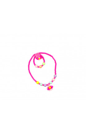PINK CROWN NECKLACE II