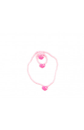 LITTLE PINK RIBBON NECKLACE