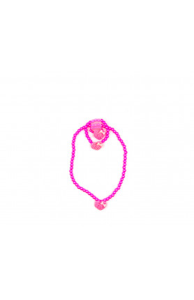 LITTLE PINK RIBBON NECKLACE II