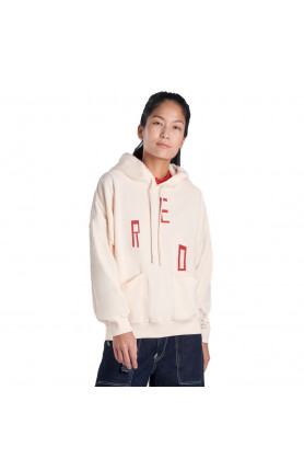 LEVI'S® RED WOMEN'S GRAPHIC HOODIE - BROWN