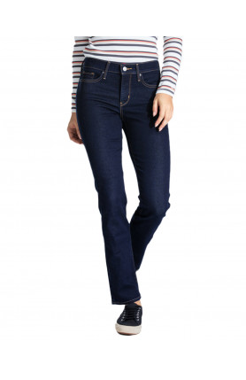 WOMEN'S 312 SHAPING SLIM JEANS - DARK BLUE
