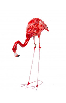 SMALL SIZED DECORATIVE PINK FLAMINGO