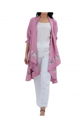 MUNA JACKET IN PINK