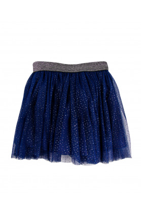 NAVY GILTER TUTU SKIRT