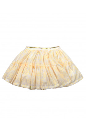 YELLOW FLOWER SKIRT