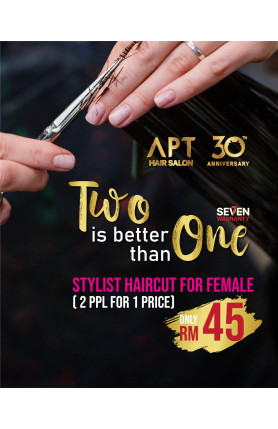 TWO IS BETTER THAN ONE - STYLIST HAIRCUT FOR FEMALE VOU..