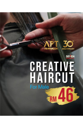 CREATIVE HAIRCUT FOR MALE VOUCHER