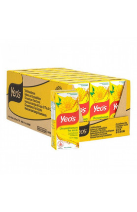 YEOS CHRYSANTHEMUM TEA 24S X 250ML