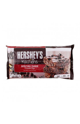 HERSHEYS SPECIAL DARK M/S CHOCOLATE CHIPS 12OZ