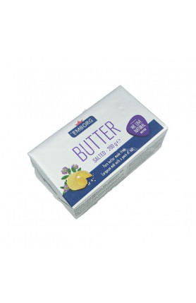 EMBORG BUTTER SALTED 200GM