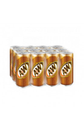 A&W SARSAPARILLA 320ML