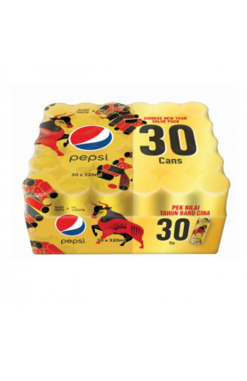 PEPSI BLACK CAN 30S X 320ML