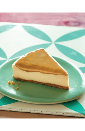 [FOOD DELIVERY] CARAMEL CHEESECAKE
