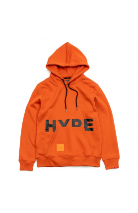 VIBRANT ORANGE AUTUMN PULLOVER HOODIE | ORANGE