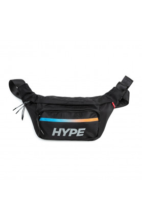 ATHLETIC GEAR RIDGE POUCH BAG | BLACK