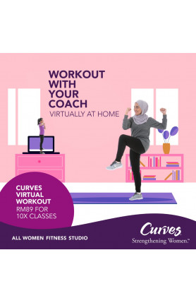 STAY FIT & HEALTHY WITH CURVES @ RM89