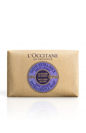 SHEA BUTTER EXTRA GENTLE SOAP - LAVENDER 250GM