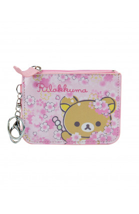 COIN PURSE WITH CARD HOLDER - RILAKKUMA