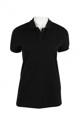 LOGO POLO SHIRT - BLACK