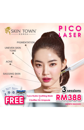 PICO LASER TREATMENT 3 SESSIONS FOR RM388