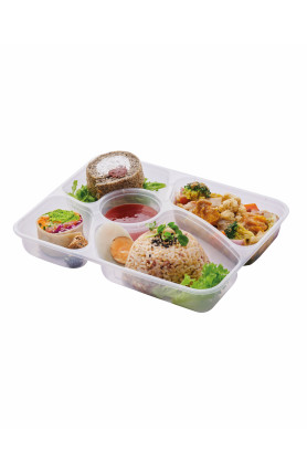 [FOOD DELIVERY] GREEN CURRY MIXED VEGETABLE BENTO