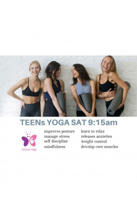 TEENS YOGA FOR 2