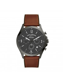 FORRESTER CHRONOGRAPH AMBER LEATHER WATCH