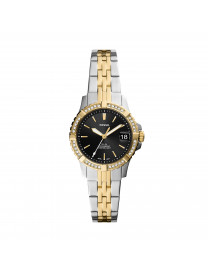 FB-01 THREE-HAND DATE ROSE TWO-TONE STAINLESS STEEL WAT..