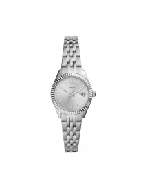 SCARLETTE MICRO THREE-HAND DATE STAINLESS STEEL WATCH