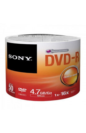 SONY DVD-R 50 PCS SPINDLE
