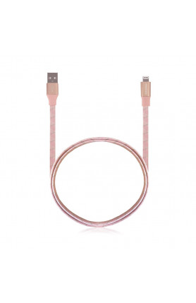 MONOCOZZI MOTIF |BRAIDED LIGHTNING CABLE FLAT 100CM - P..