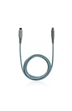 MONOCOZZI MOTIF |BRAIDED USB-C TO LIGHTNING CABLE 1M - ..