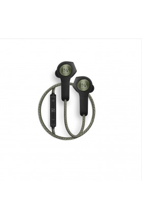 B O BEOPLAY H5 EARPHONES MOSS GREEN