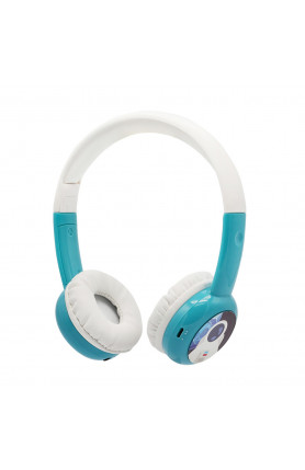 BAMINI STUDY WIRED HEADPHONES - BLUE