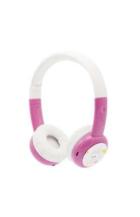 BAMINI STUDY WIRED HEADPHONES - PINK